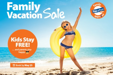 Sunwing's summer savings are here for families