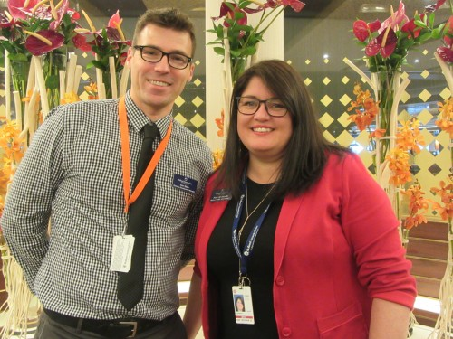 Agents tour Holland America's revitalized Westerdam in Vancouver