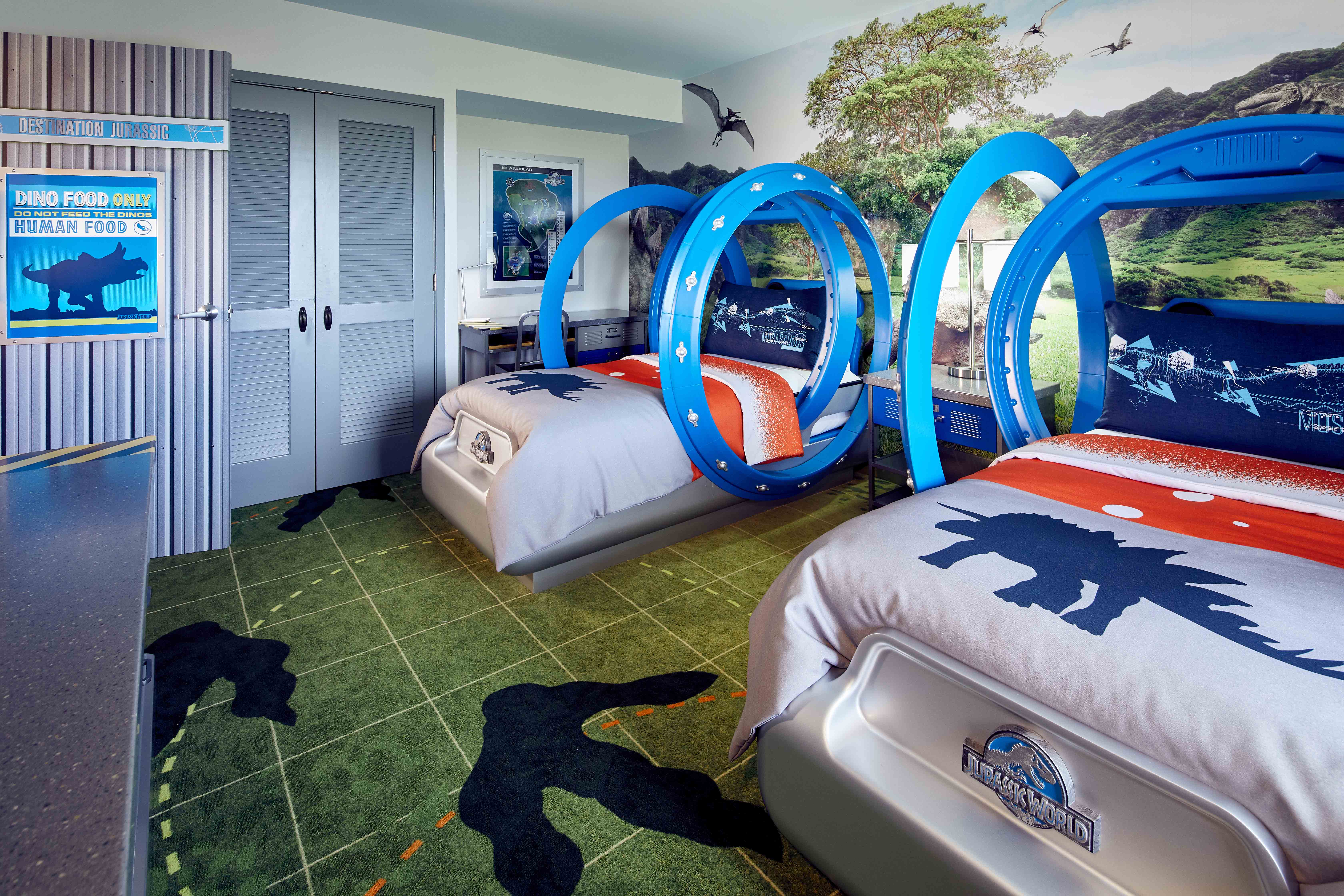 Jurassic World Kids' Suites now available at Universal Orlando