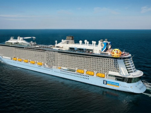 RCI's Spectrum of the Seas was custom-built for the Chinese market