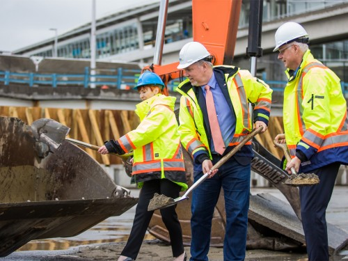 YVR breaks ground in support of 75+ new projects
