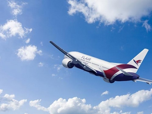 Flair Airlines is officially flying coast-to-coast