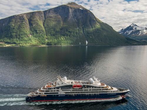 Ponant's newest vessel, Le Lapérouse, arrives