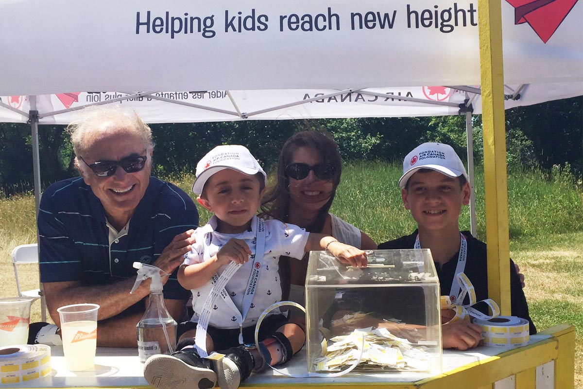 Air Canada Foundation's 7th golf tournament earns $1M+ for Canadian children