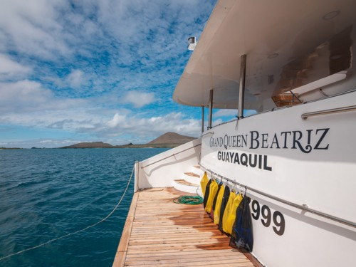 Peregrine Adventures' Queen Bea is now cruising the Galapagos