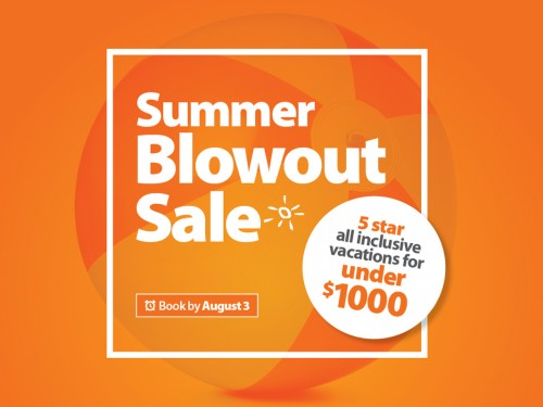 Sunwing's summer blowout sale is on now