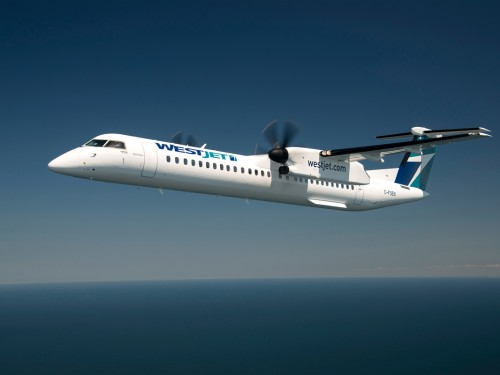 WestJet Encore launches non-stop Calgary-Terrace flight this fall