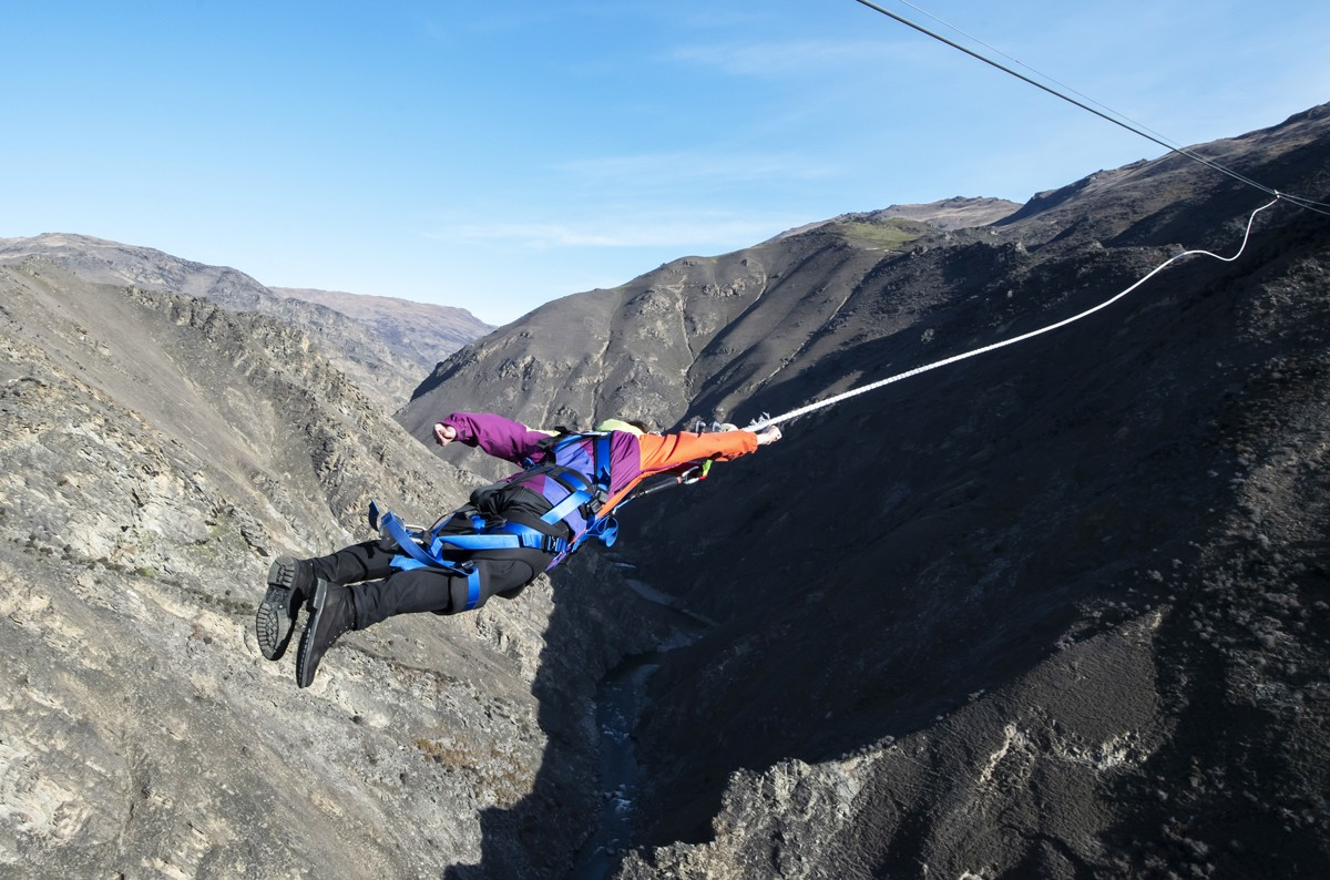 Ready to take on New Zealand's Nevis Catapult?