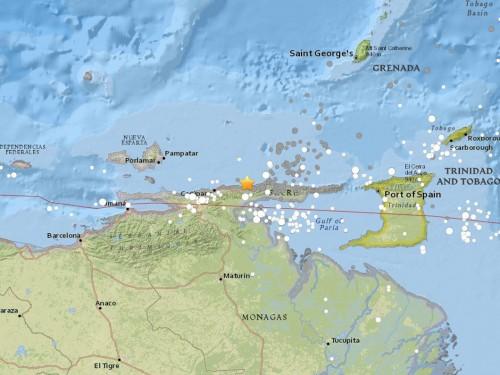 Caribbean shaken by Venezuela quake