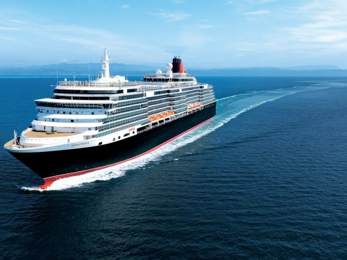 Lots of freebies on Cunard's Three for All promo