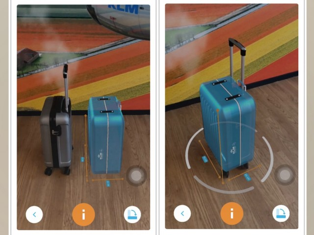 Packing made easy with KLM's new virtual suitcase