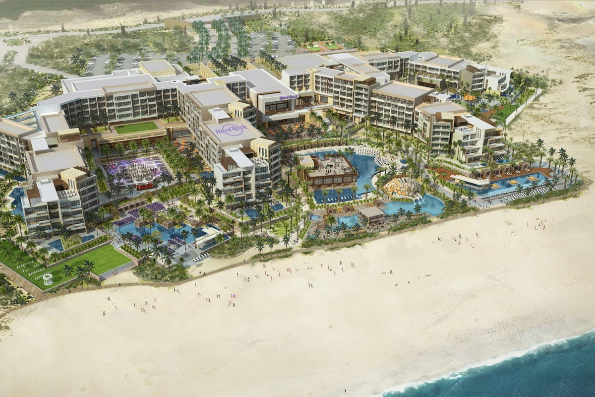 The Hard Rock Hotel Los Cabos is officially taking bookings