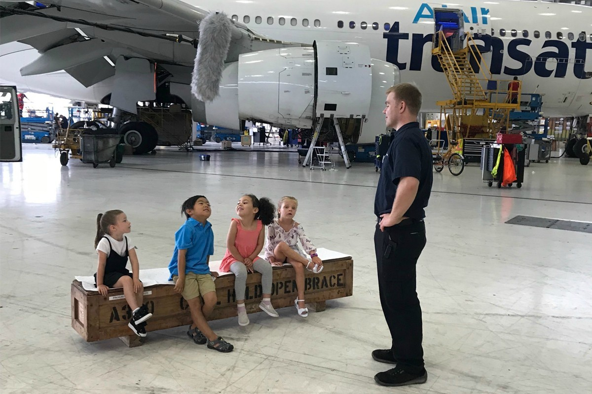Kids explore aviation with Air Transat's new series