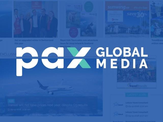 Logimonde media changes name to PAX Global Media Inc.