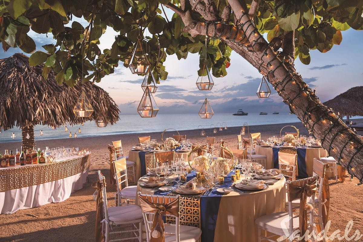 Sandals' Band of Gold wedding inspiration now available