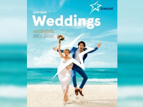 Transat teams up with Weddingbells for new brochure