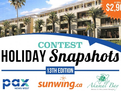 Our Holiday Snapshots Contest is back