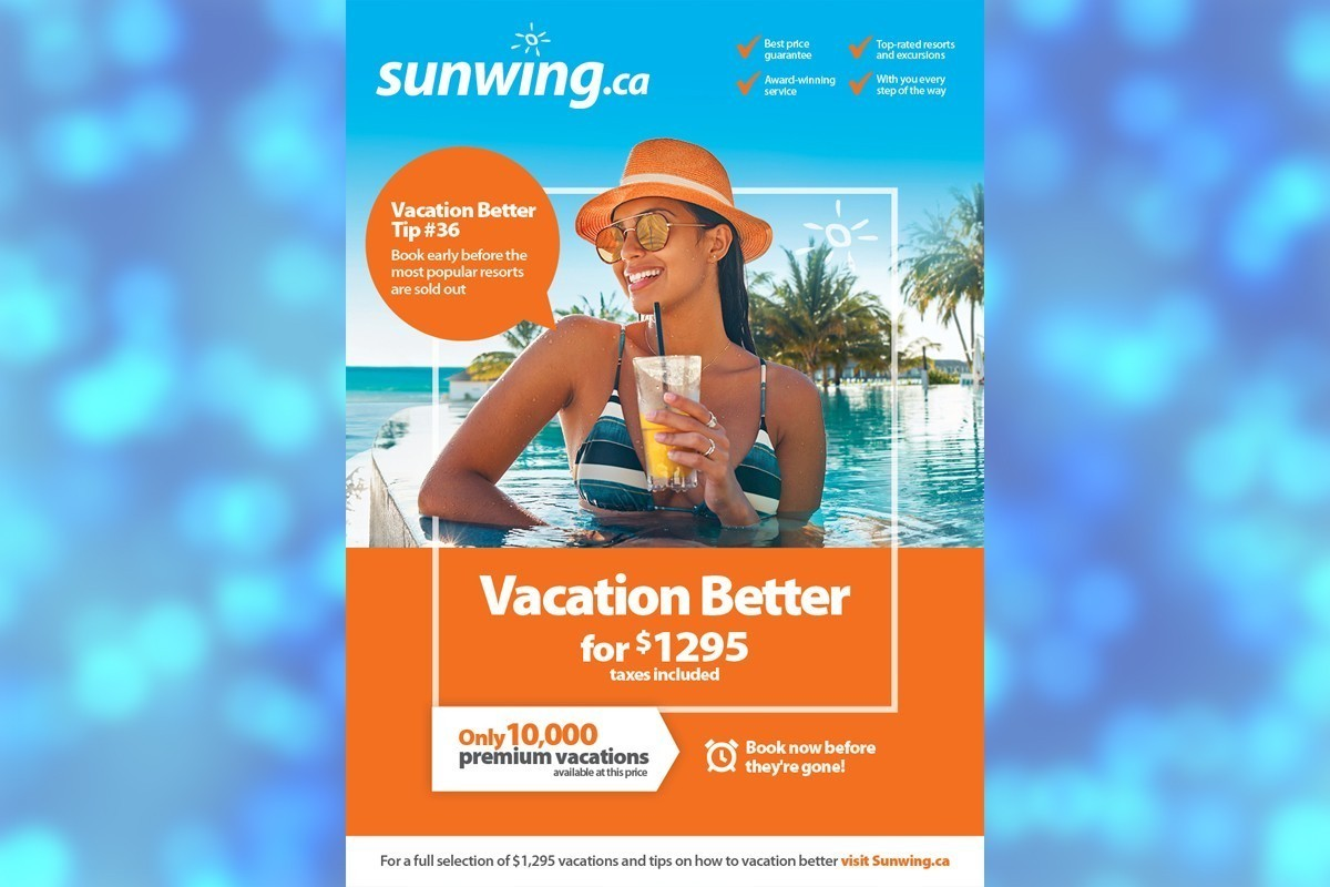 Sunwing has more than 10,000 vacations on sale until Friday