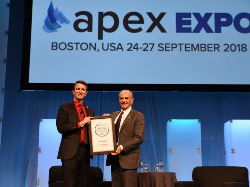 Air Canada's CEO takes home Lifetime Achievement Award from APEX
