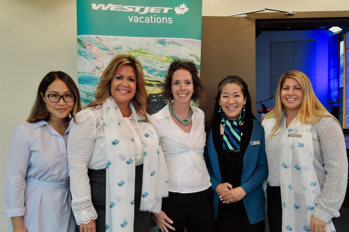 WestJet unveils new business class to Vancouver agents