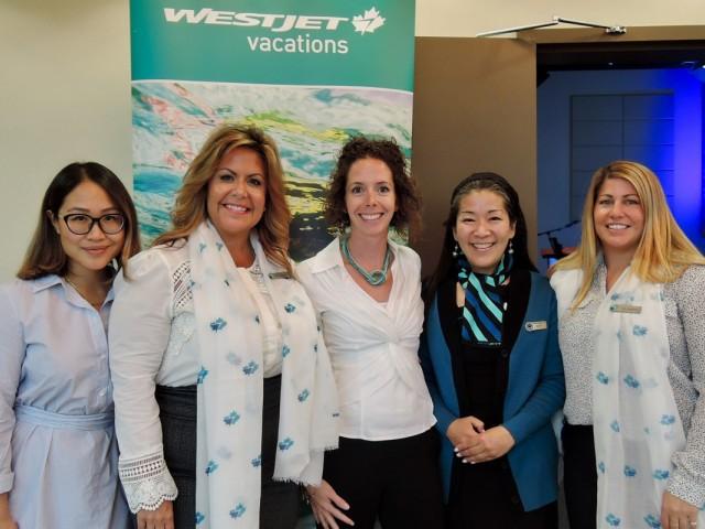 WestJet unveils new business class to Vancouver agents