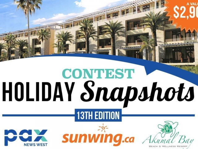 Post your best Holiday Snapshots to win!