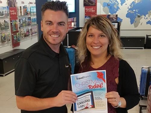 An Edmonton winner emerges from TravelBrands Loyalty Rewards contest