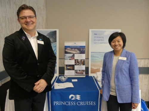 Princess meets with agents in Vancouver