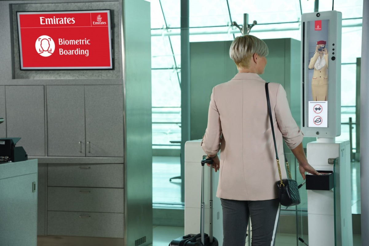 Emirates introduces facial & iris recognition technology check-in for passengers