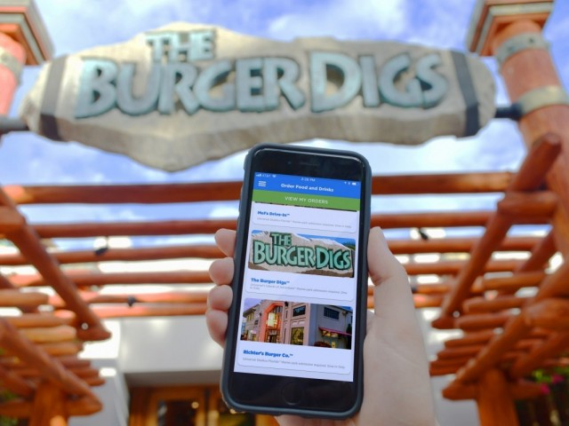 Universal Orlando gets a new mobile food ordering app