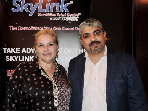 SkyLink holds Diwali function for Vancouver agents