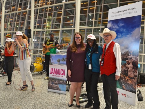 We checked out WestJet's inaugural flight from Calgary to Montego Bay