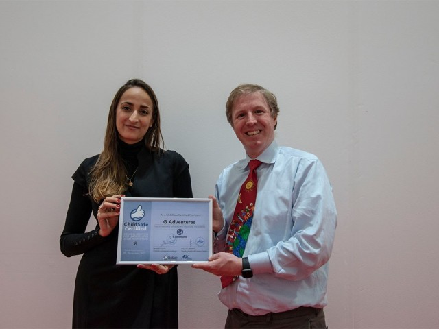 G Adventures awarded ChildSafe Certified status at WTM