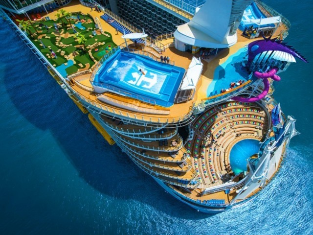 RCI's Symphony of the Seas arrives in Miami