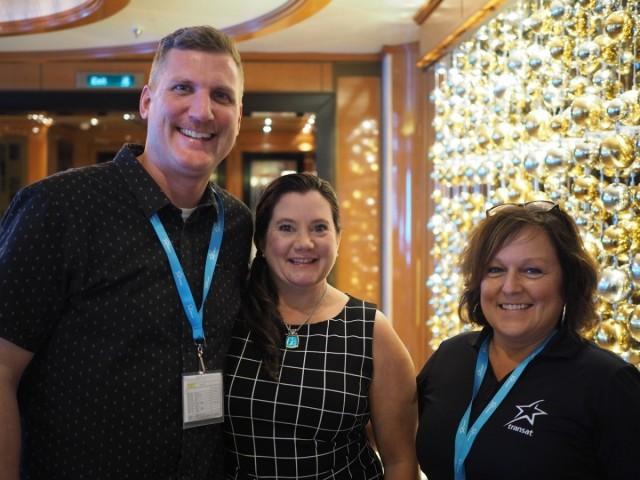Transat's Surf & Turf seminar profiles cruise as a turn-key product