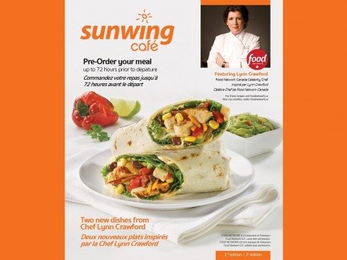Chef Lynn brings two new meals onboard Sunwing Airlines