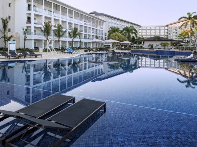 A look inside the Royalton White Sands in Jamaica's Montego Bay