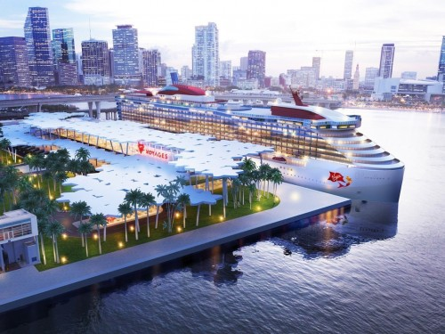 Cruise terminal for Virgin Voyages coming to Miami