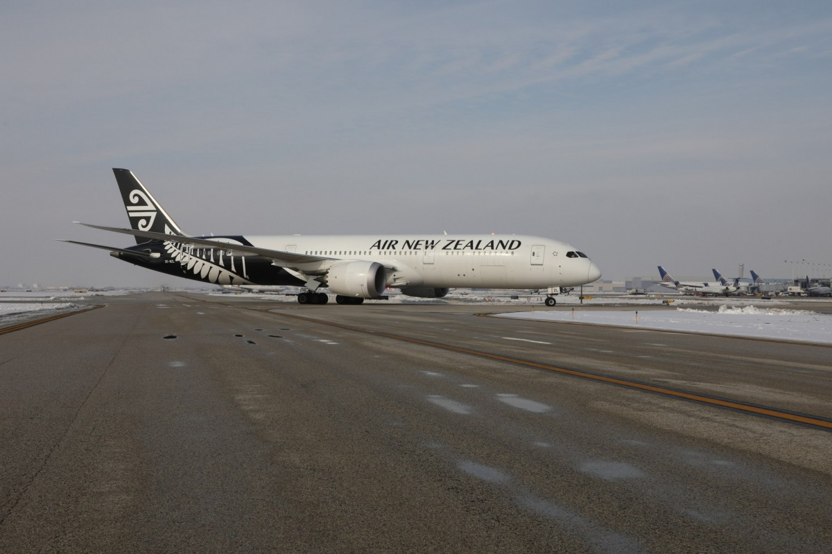 Air New Zealand welcomes Auckland to Chicago service