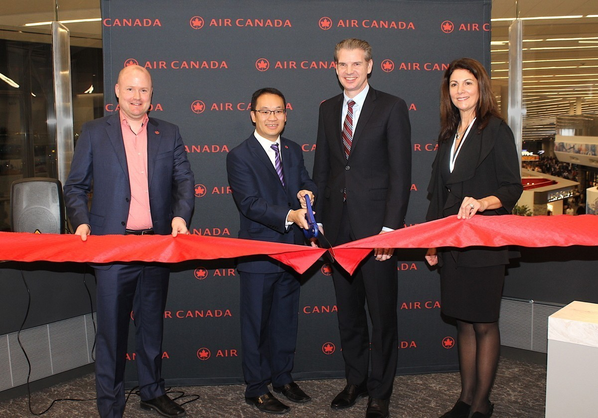 PAX On Location: Air Canada has opened its new Maple Leaf Lounge at LaGuardia