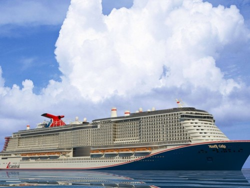 Carnival's newest XL-class ship will be named Mardi Gras