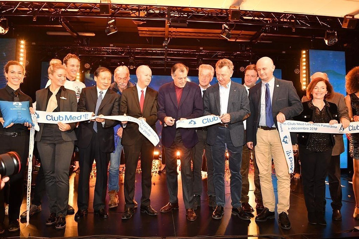 Club Med's Les Arcs Panorama celebrates grand opening