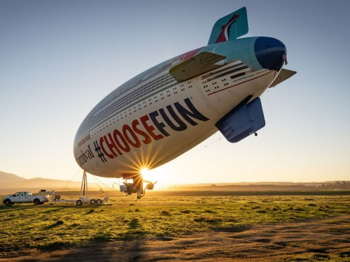 The Carnival AirShip is back and it's bringing big prizes