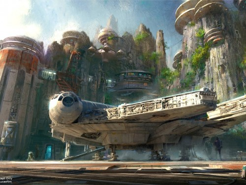 Check it out: Disney shows off Star Wars: Galaxy's Edge