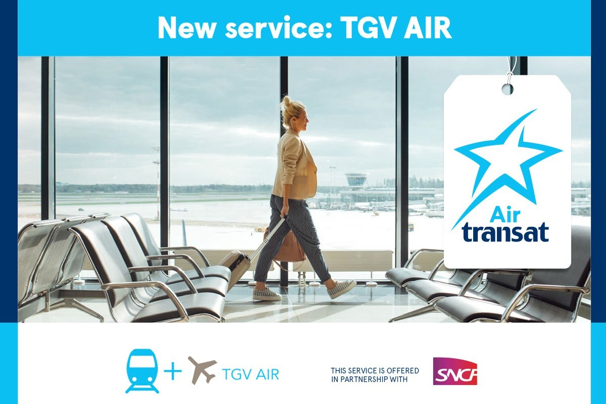 Transat partners with SNCF for easy airl+rail travel through France