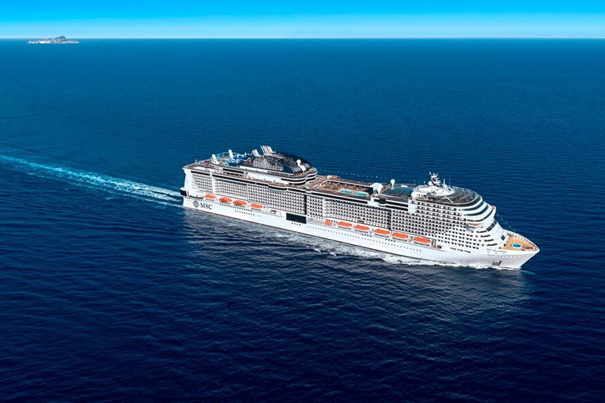 MSC Grandiosa will be delivered in October 2019