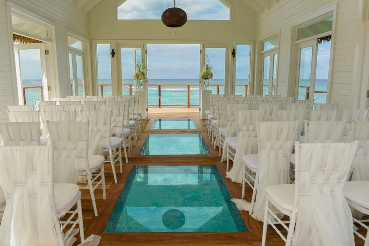 Over-the-water chapel now open at Sandals Ochi Beach Resort