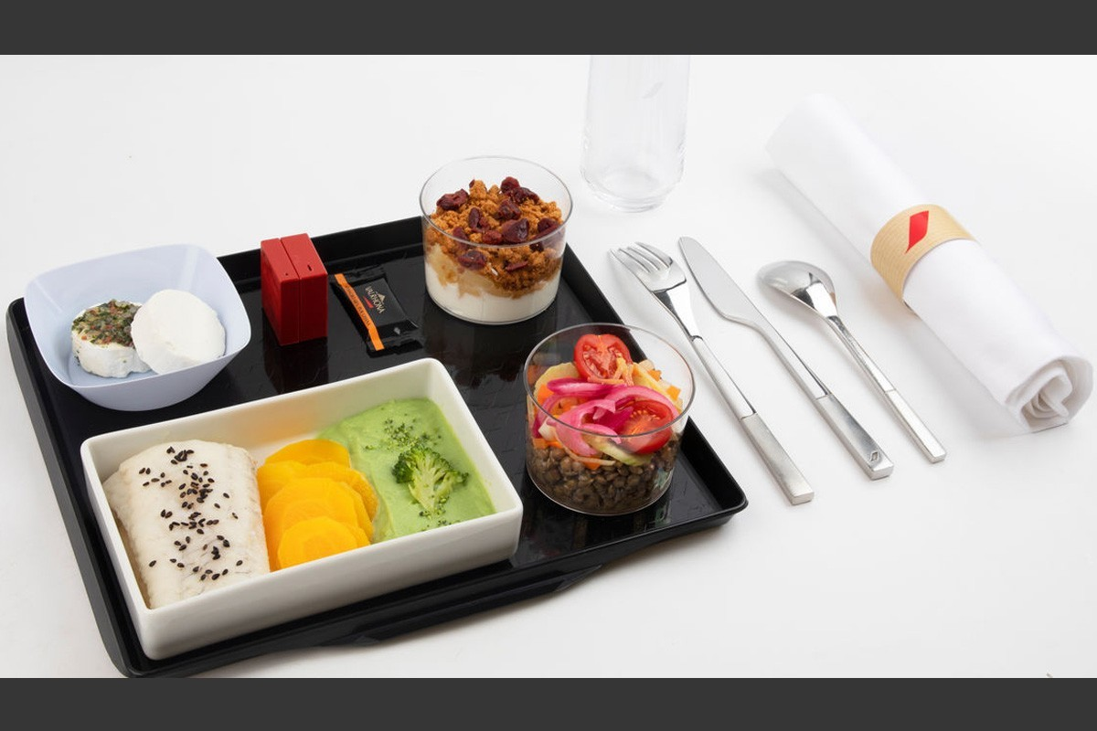 Check out Air France's new Healthy menu