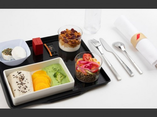 Check out Air France's new Healthy menu