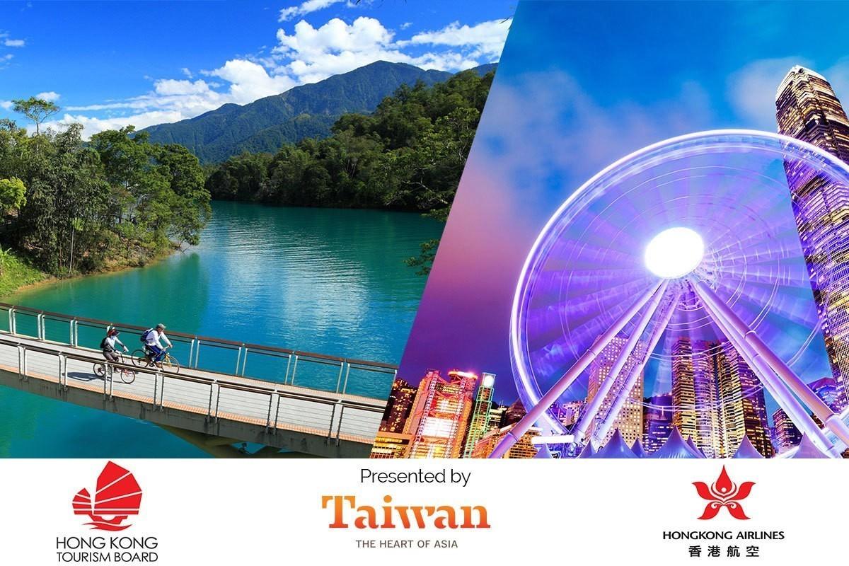 You could win a trip to Hong Kong & Taiwan!